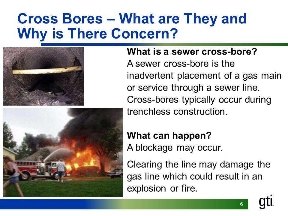 Cross Bores – What are They and Why is There Concern
