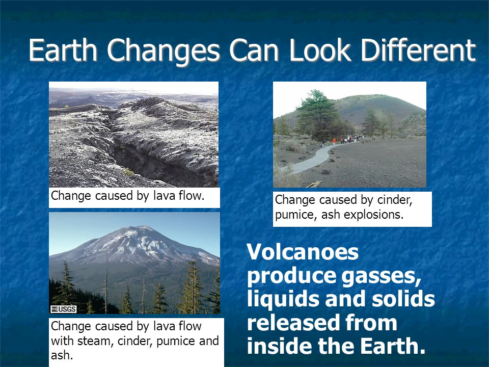 Earth Changes Can Look Different
