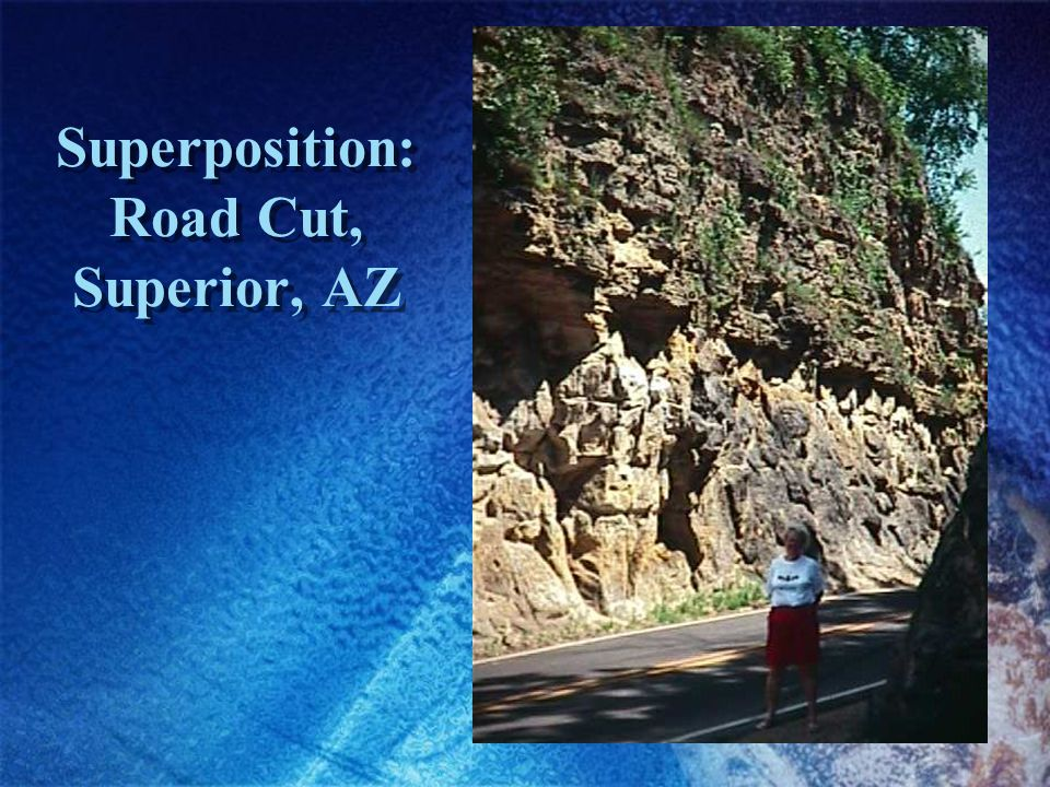 Superposition: Road Cut, Superior, AZ