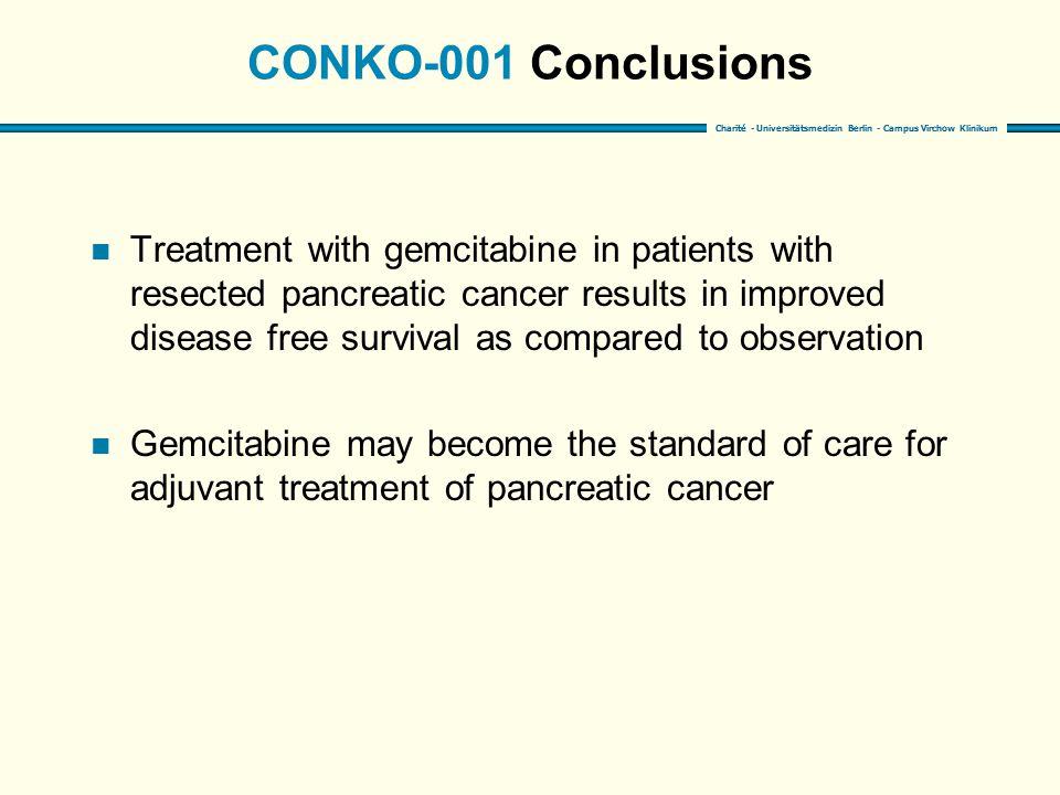 CONKO-001 Conclusions