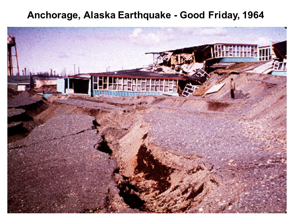 Anchorage, Alaska Earthquake - Good Friday, 1964
