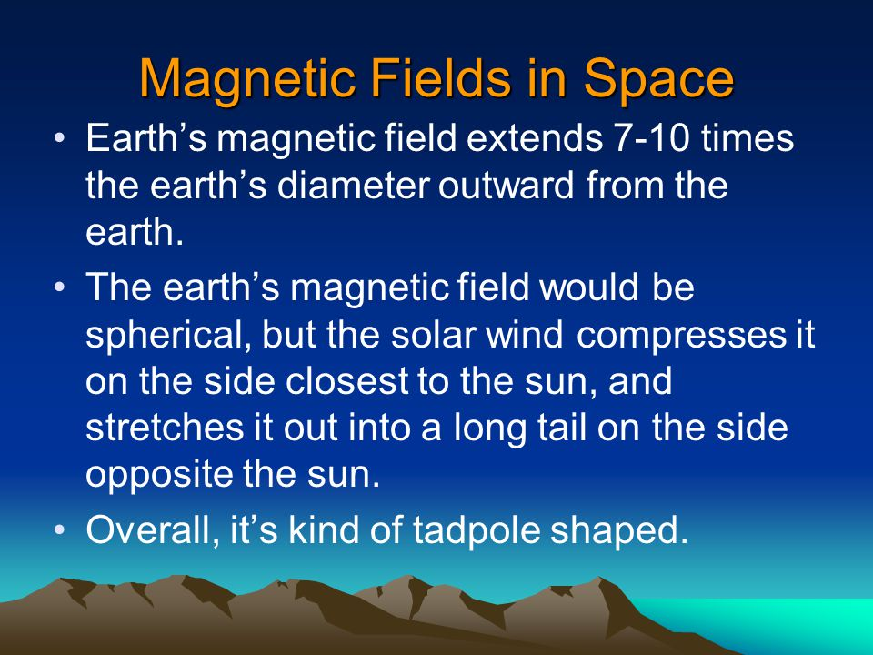 Magnetic Fields in Space