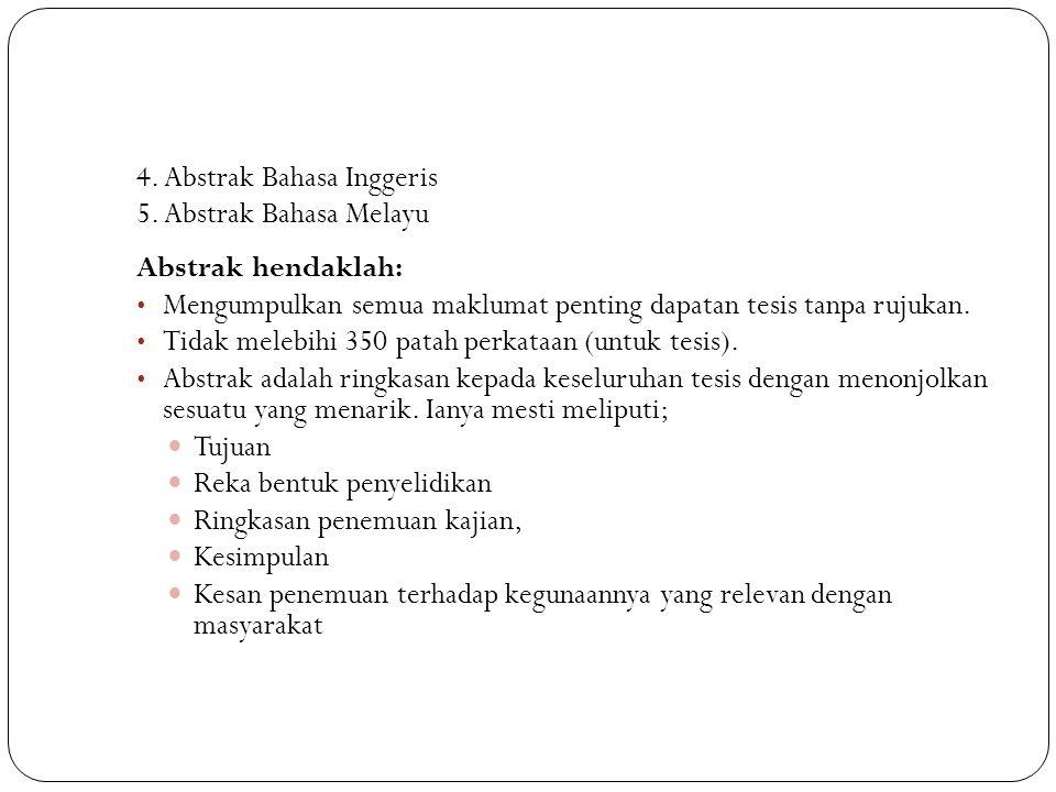4. Abstrak Bahasa Inggeris
