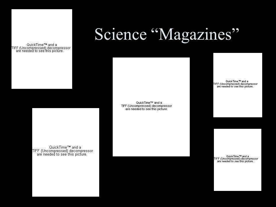 Science Magazines
