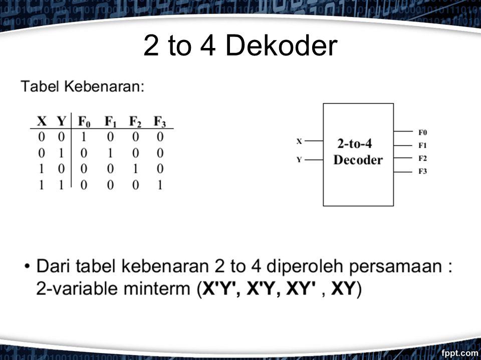 2 to 4 Dekoder