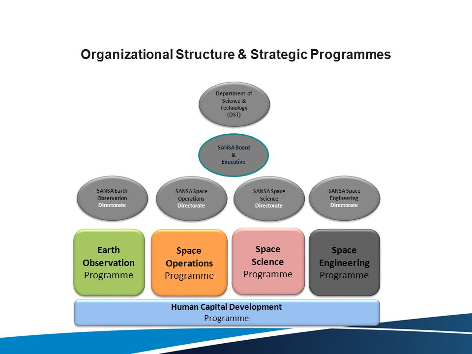 Organizational Structure & Strategic Programmes