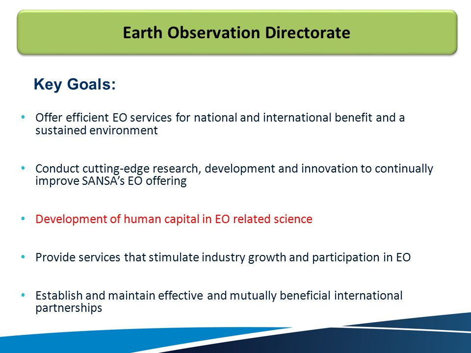 Earth Observation Directorate