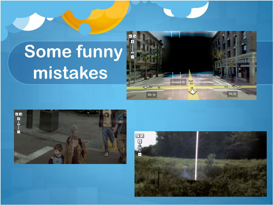 Some funny mistakes