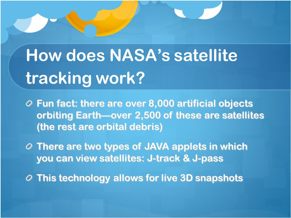 How does NASA's satellite tracking work