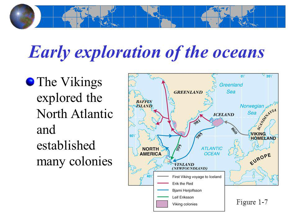 Early exploration of the oceans