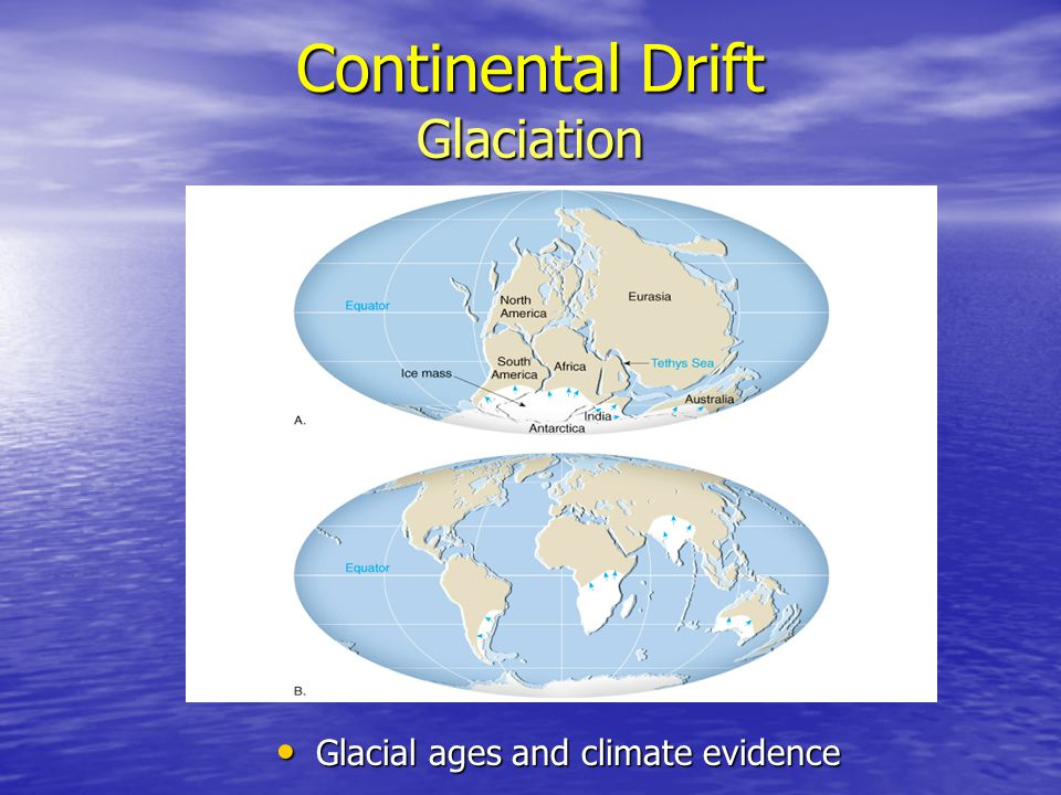 Continental Drift Glaciation