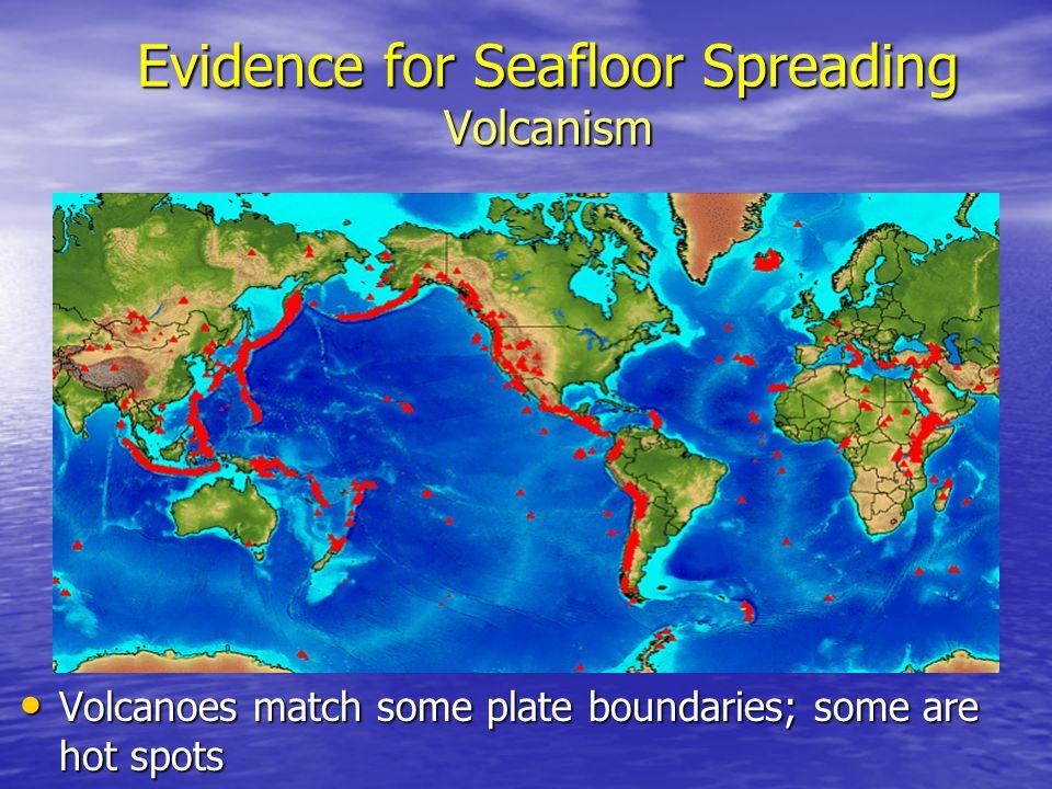 Evidence for Seafloor Spreading Volcanism
