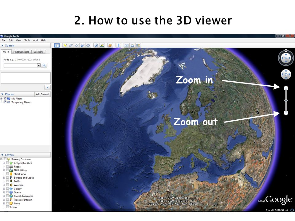 2. How to use the 3D viewer Zoom in Zoom out