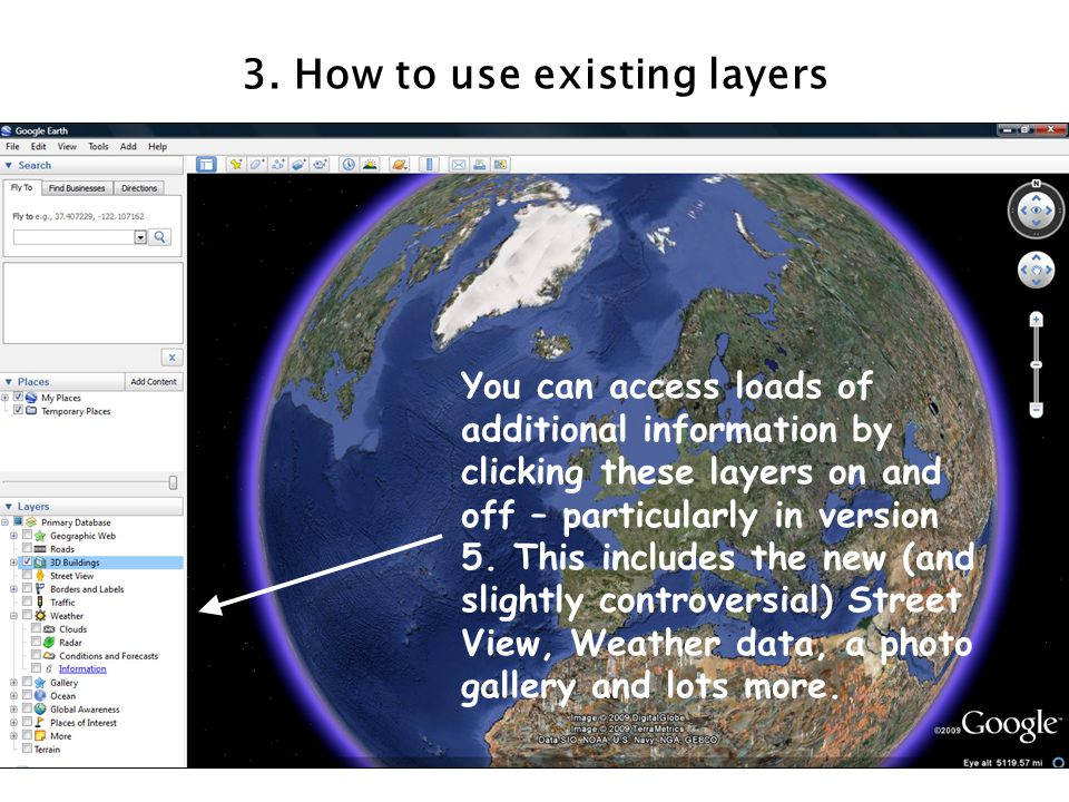 3. How to use existing layers
