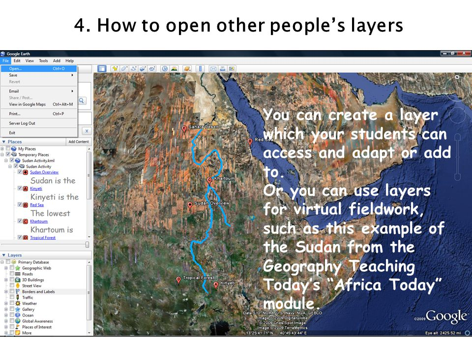 4. How to open other people's layers