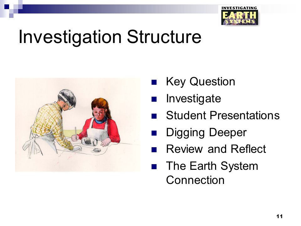 Investigation Structure