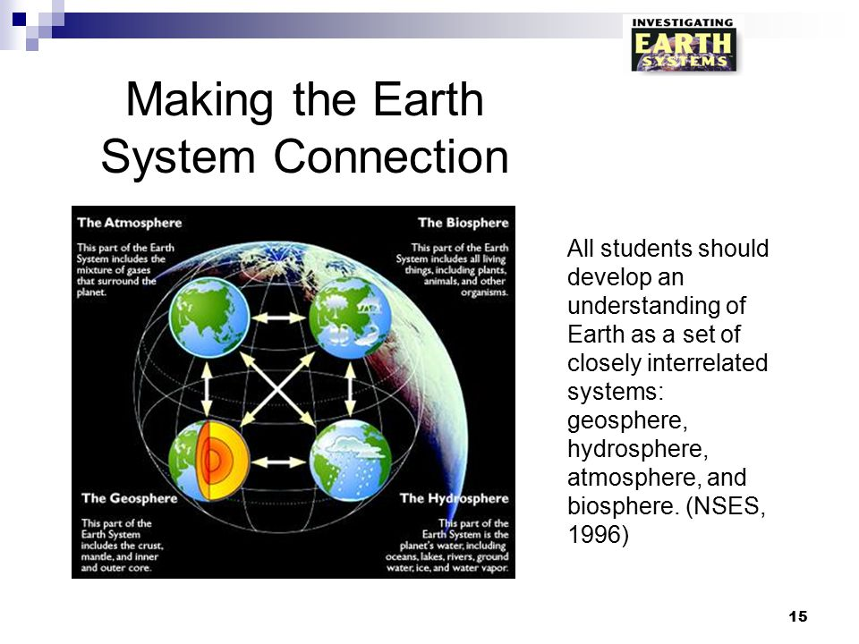 Making the Earth System Connection