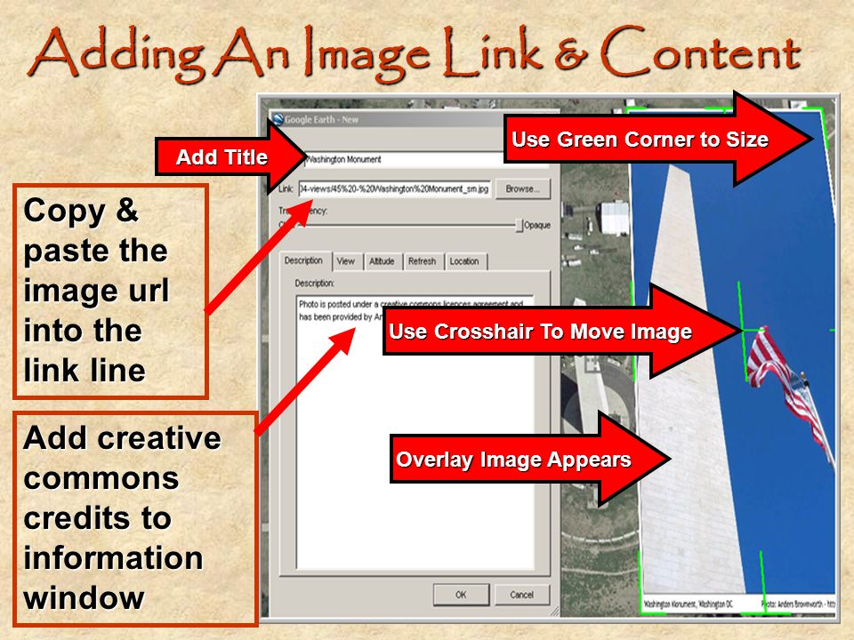 Adding An Image Link & Content
