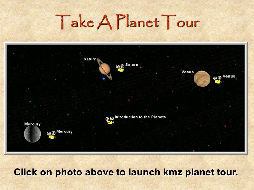 Click on photo above to launch kmz planet tour.