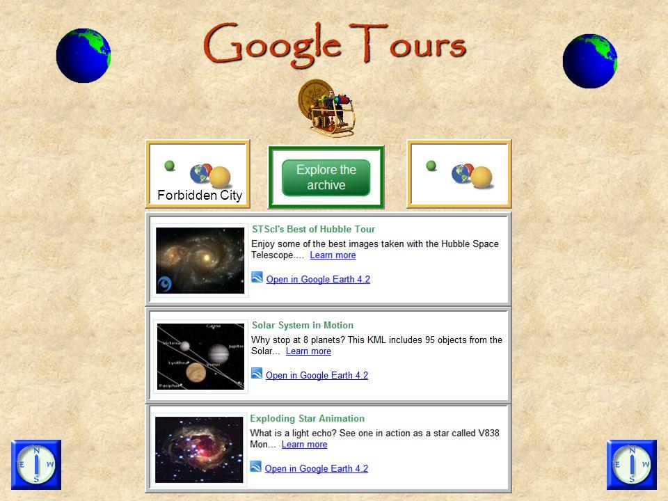 Google Tours Forbidden City