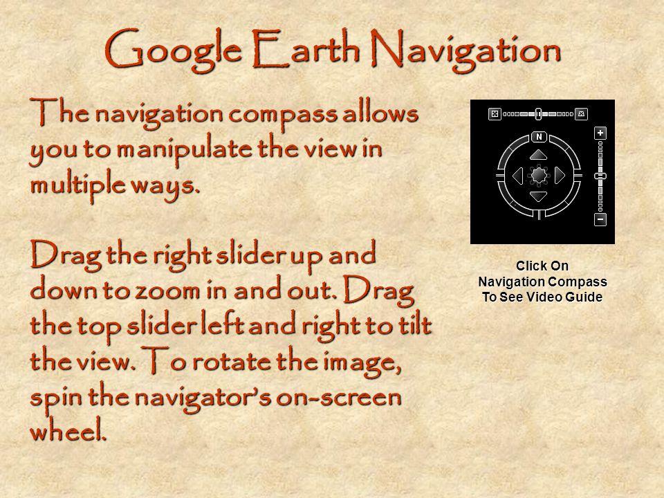 Google Earth Navigation