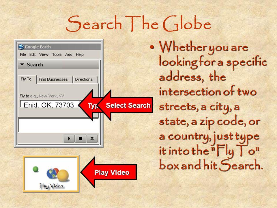 Search The Globe