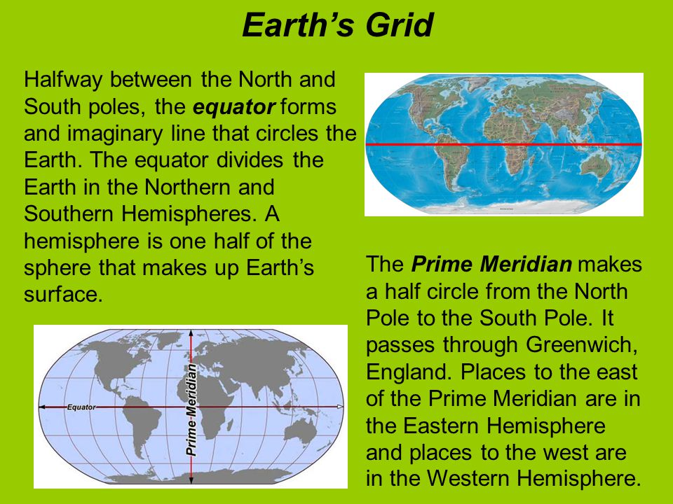 Earth's Grid