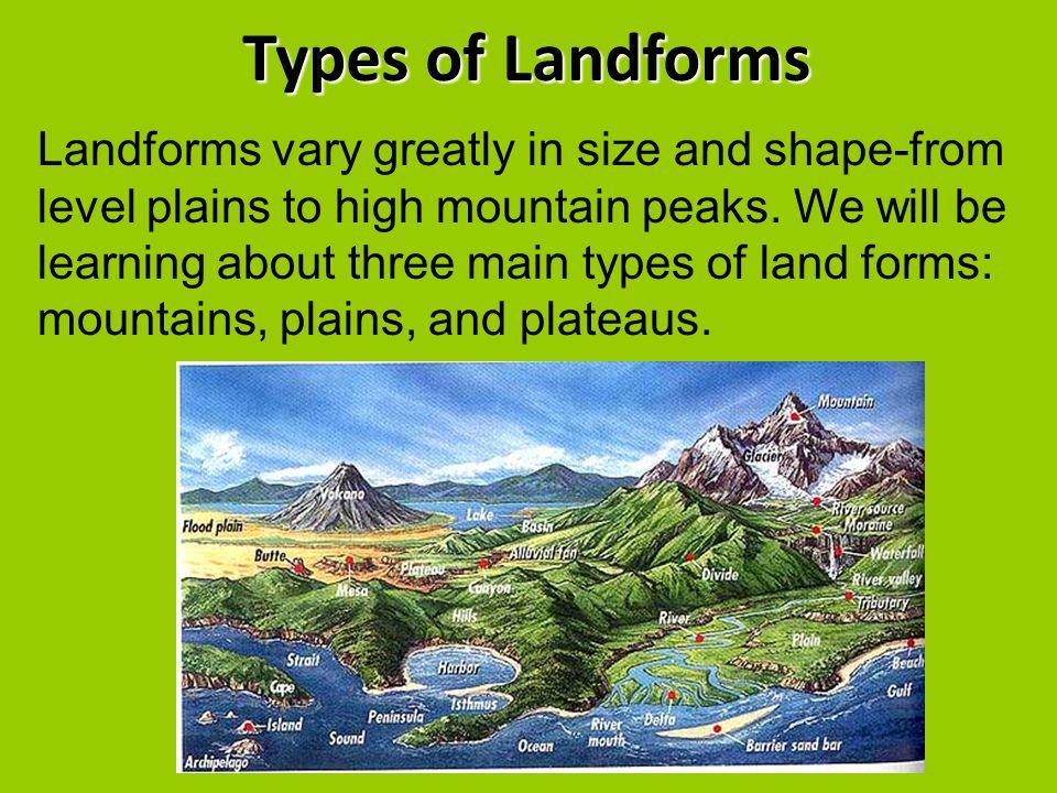 landform report
