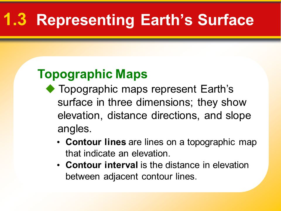 1.3 Representing Earth's Surface