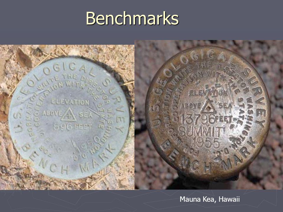 Benchmarks Mauna Kea, Hawaii