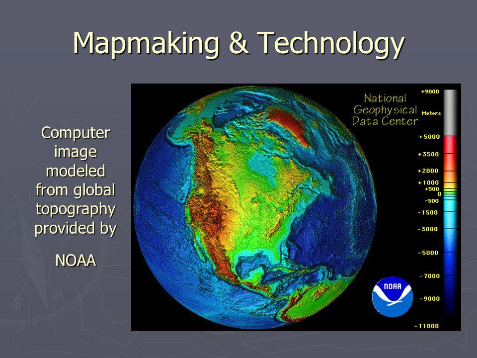 Mapmaking & Technology