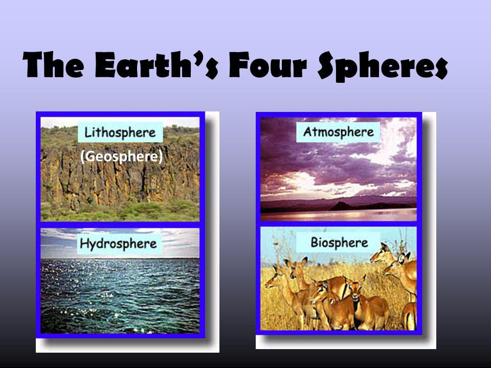 The Earth's Four Spheres