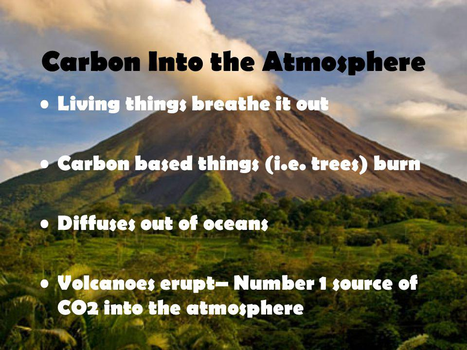 Carbon Into the Atmosphere