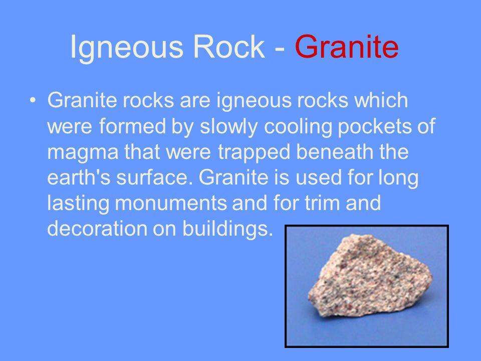 Igneous Rock - Granite