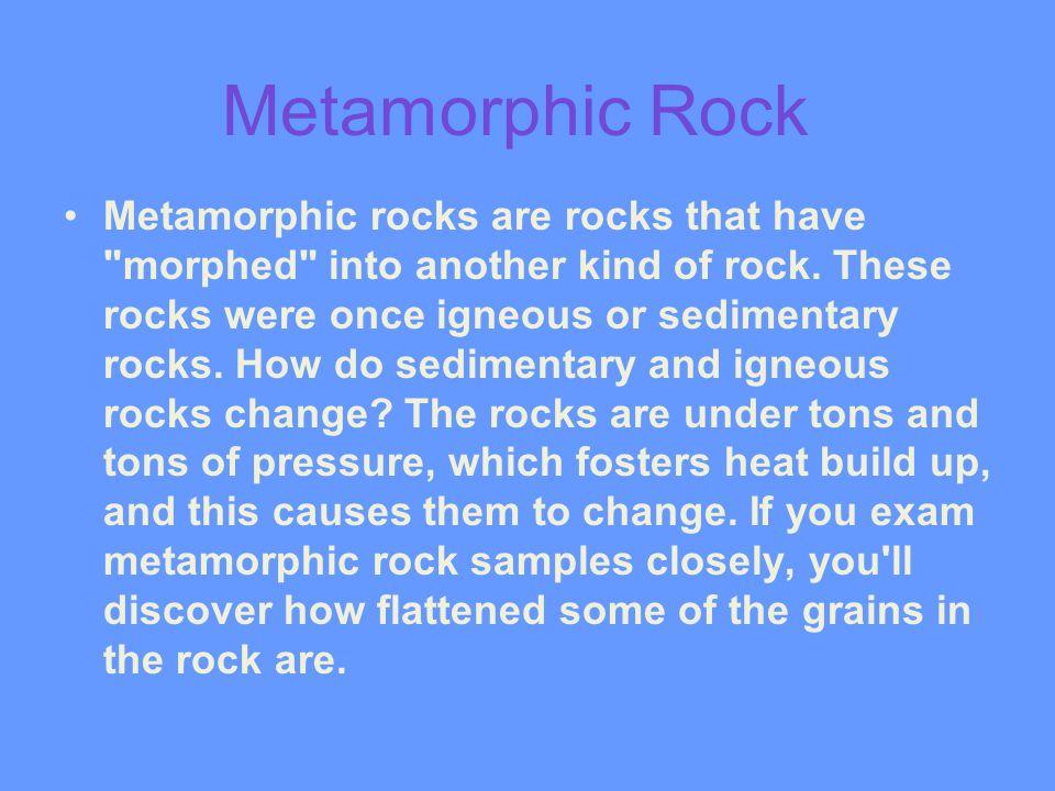 Metamorphic Rock
