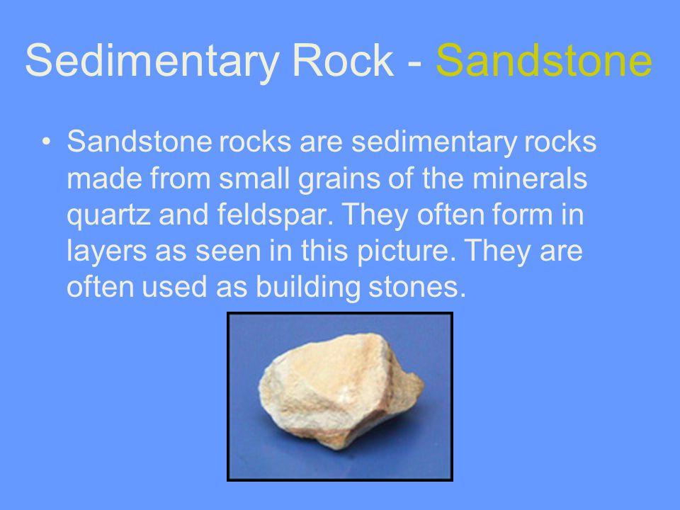 Sedimentary Rock - Sandstone