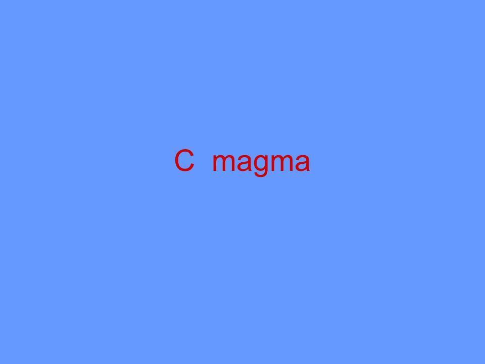 C magma