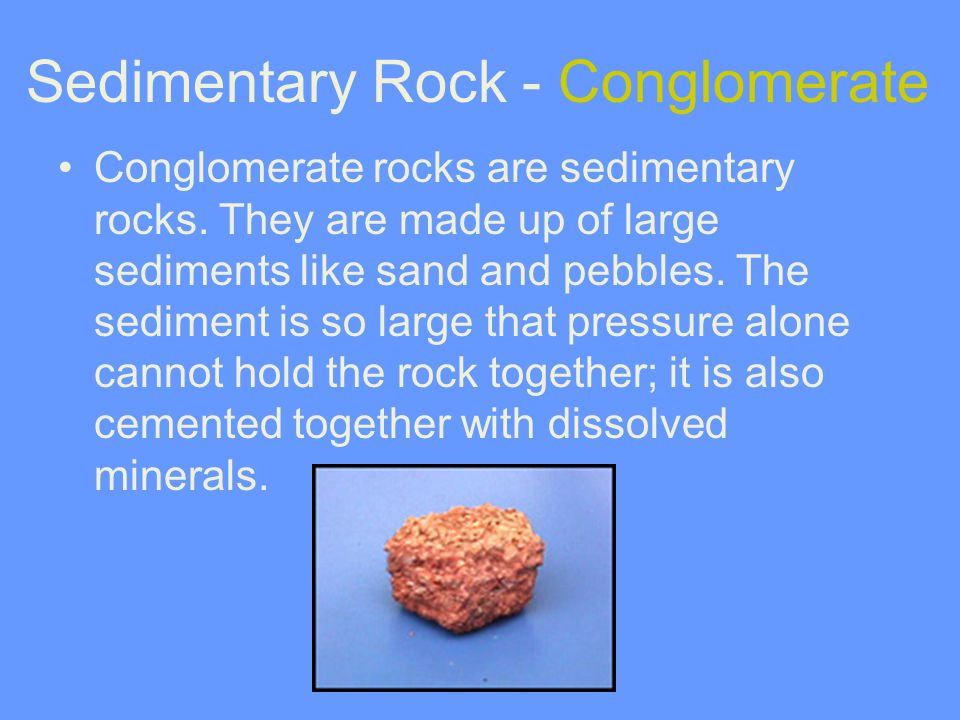 Sedimentary Rock - Conglomerate