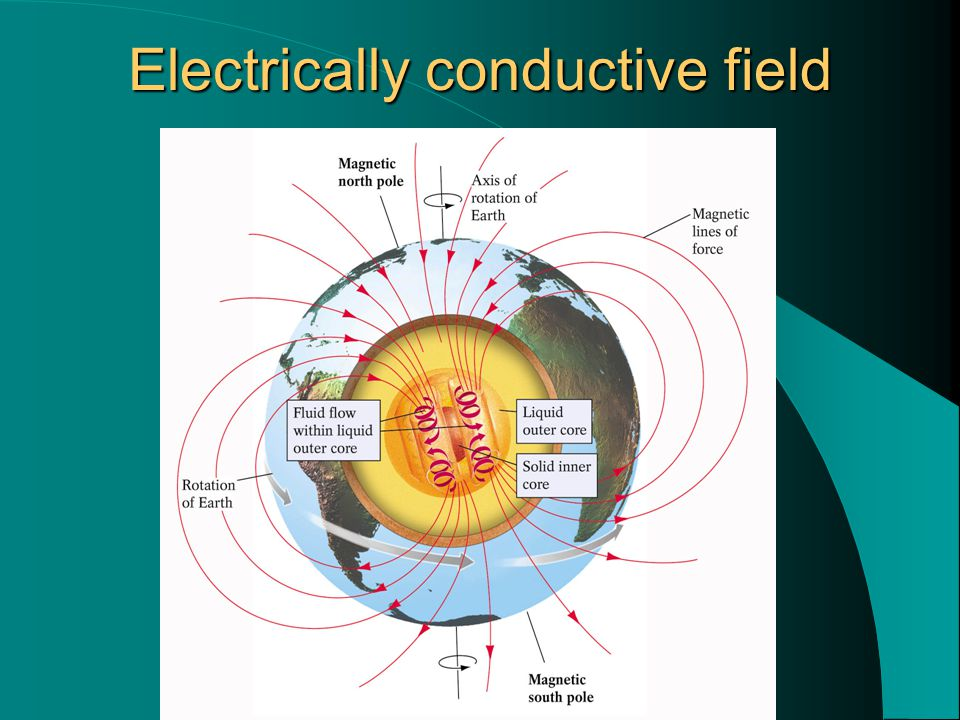 Electrically conductive field
