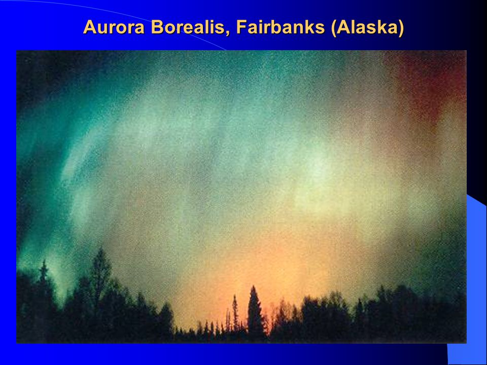 Aurora Borealis, Fairbanks (Alaska)