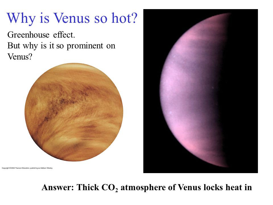 Why is Venus so hot Greenhouse effect.