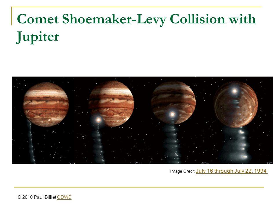 Comet Shoemaker-Levy Collision with Jupiter