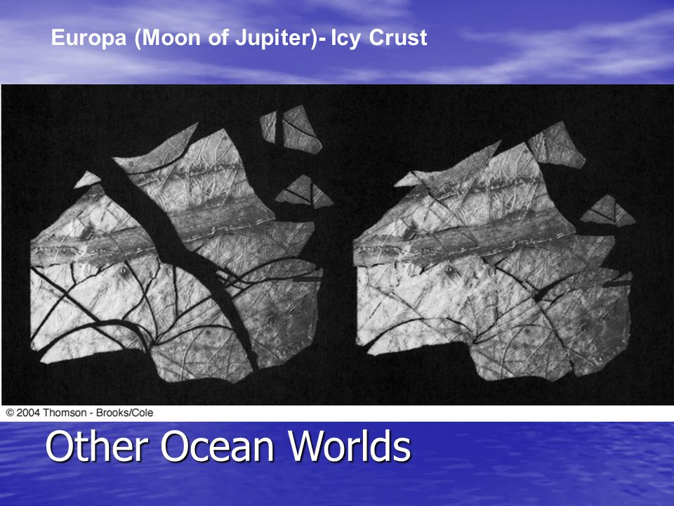 Europa (Moon of Jupiter)- Icy Crust