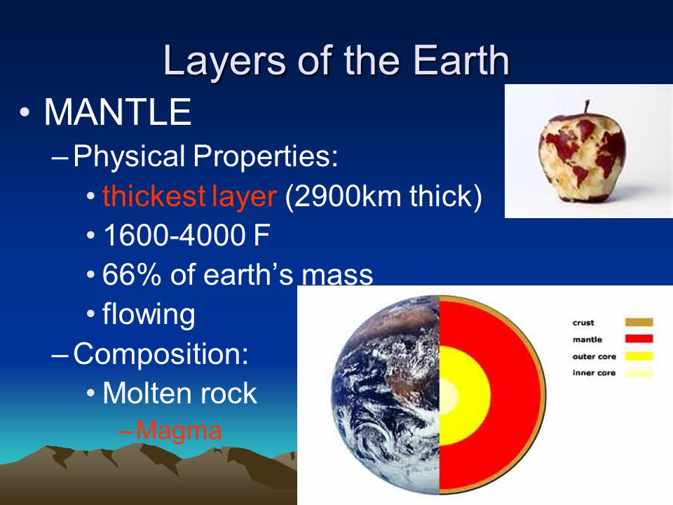 inside the earth ppt video online download