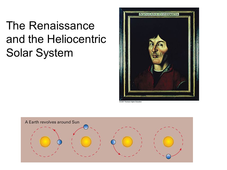 The Renaissance and the Heliocentric Solar System