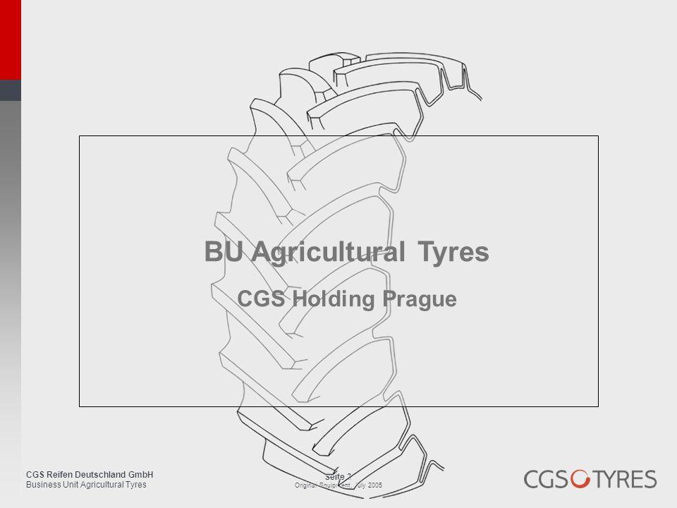 BU Agricultural Tyres CGS Holding Prague
