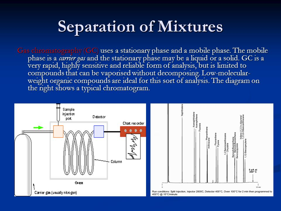 separation of a mixture unknown Lab 5 extraction and separation of a mixture the contents of the tube were thoroughly mixed upon separation of mixture into 2 distinct layers.