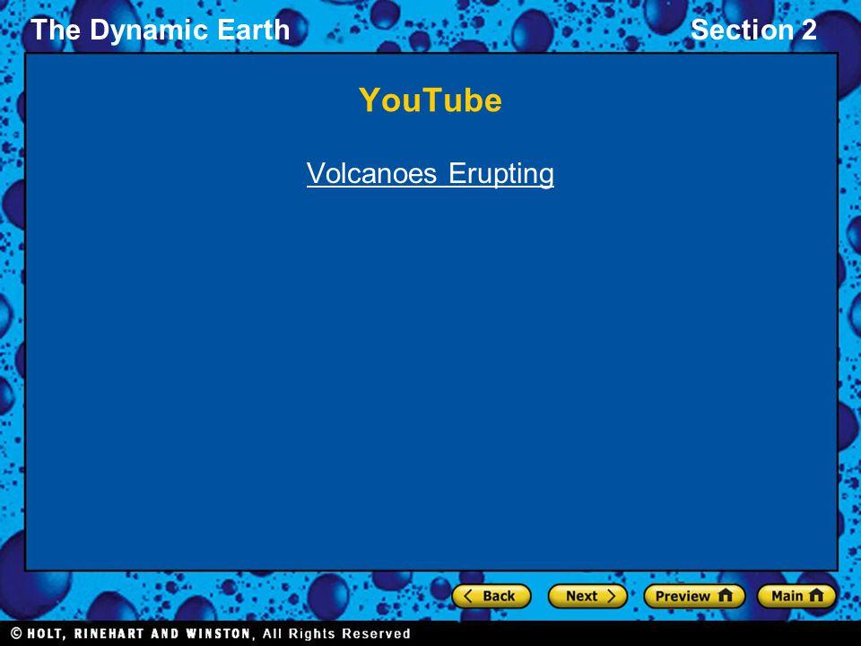 YouTube Volcanoes Erupting