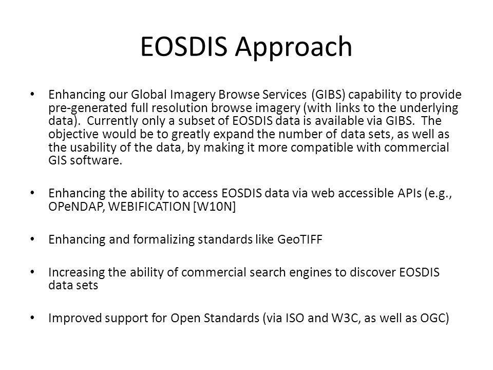 EOSDIS Approach