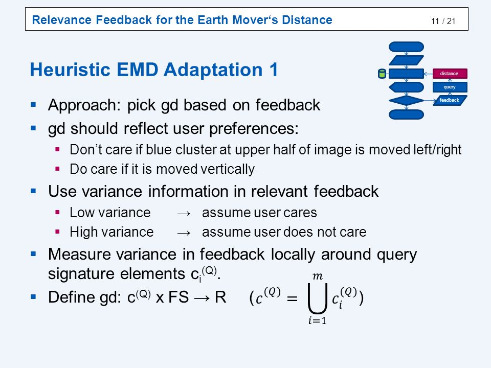 Heuristic EMD Adaptation 2